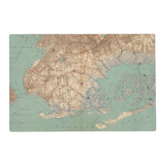 Jamaica Bay and Brooklyn Laminated Placemat
