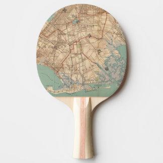 Jamaica Bay and Brooklyn Ping-Pong Paddle