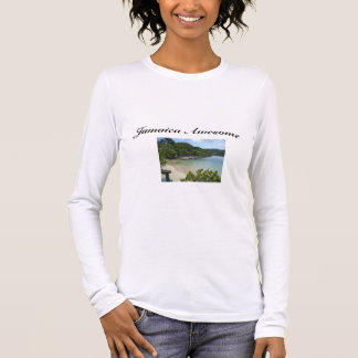 Jamaica Beach/ Quote Women's T-shirt