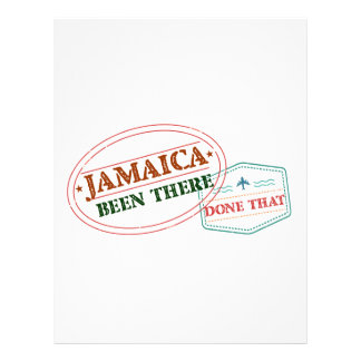Jamaica Been There Done That Letterhead