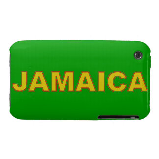 Jamaica Blackberry Curve Case-Mate Case iPhone 3 Case