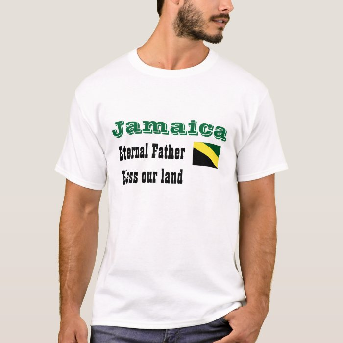 jamaica-bless our land t-shirts