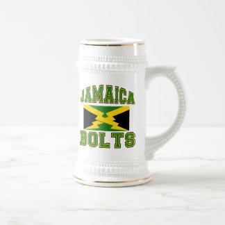 Jamaica Bolts Beer Stein
