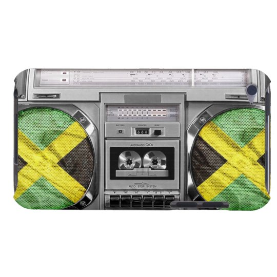 Jamaica boombox barely there iPod cover