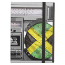 Jamaica boombox iPad air cover