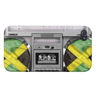 Jamaica boombox iPhone 4 case