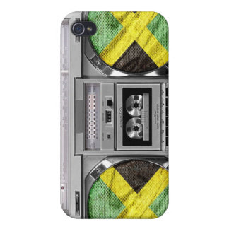 Jamaica boombox iPhone 4 cover