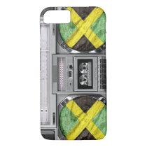 Jamaica boombox iPhone 8/7 case