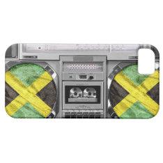 Jamaica Boombox Iphone Se/5/5s Case at Zazzle