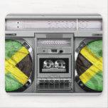 Jamaica boombox mousepads