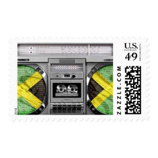 Jamaica boombox postage