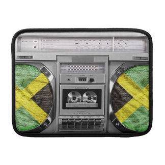 Jamaica boombox sleeve for MacBook air