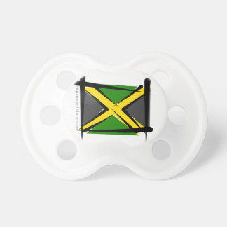 Jamaica Brush Flag BooginHead Pacifier