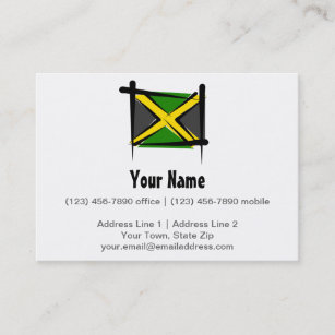 Jamaican Flag Business Cards Zazzle