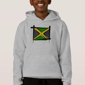 Jamaica Brush Flag Hoodie
