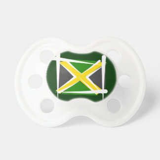 Jamaica Brush Flag Pacifiers