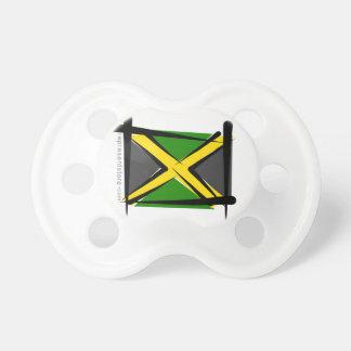 Jamaica Brush Flag Pacifier