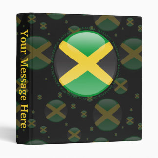 Jamaica Bubble Flag 3 Ring Binders