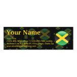 Jamaica Bubble Flag Business Card