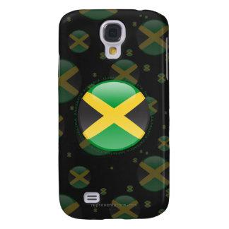 Jamaica Bubble Flag Galaxy S4 Case