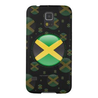 Jamaica Bubble Flag Galaxy S5 Cases
