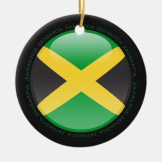 Jamaica Bubble Flag Ceramic Ornament