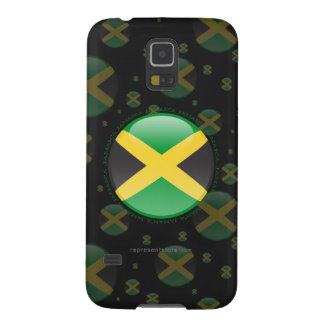 Jamaica Bubble Flag Galaxy S5 Cases