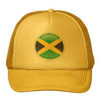 Jamaica Bubble Flag Trucker Hat