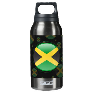 Jamaica Bubble Flag Insulated Water Bottle