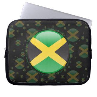 Jamaica Bubble Flag Computer Sleeve