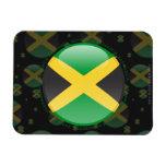 Jamaica Bubble Flag Magnets