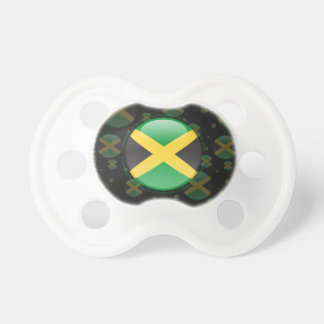 Jamaica Bubble Flag Baby Pacifiers