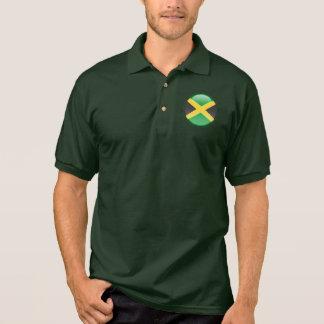 Jamaica Bubble Flag Polo Shirt
