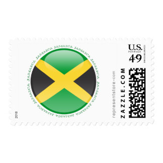 Jamaica Bubble Flag Stamps