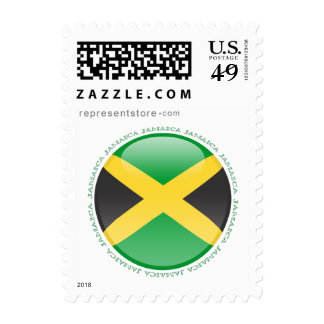 Jamaica Bubble Flag Postage Stamps