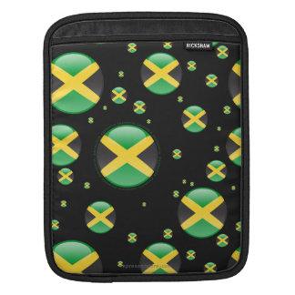 Jamaica Bubble Flag Sleeve For iPads
