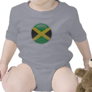 Jamaica Bubble Flag Baby Creeper