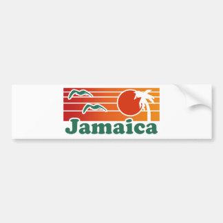 Jamaica Car Bumper Sticker