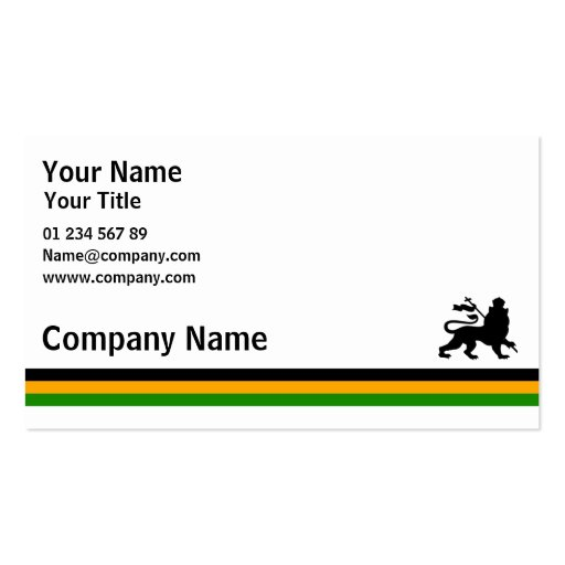 Jamaica Business Card