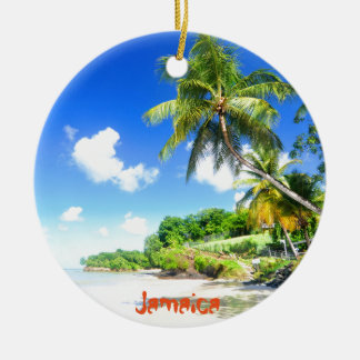 Jamaica Ceramic Ornament