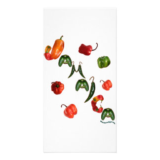 Jamaica Chili Peppers Card