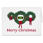 Jamaica Christmas 2 Greeting Card