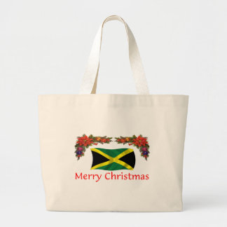 Jamaica Christmas Jumbo Tote Bag