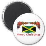 Jamaica Christmas Fridge Magnets