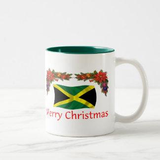 Jamaica Christmas Two-Tone Coffee Mug