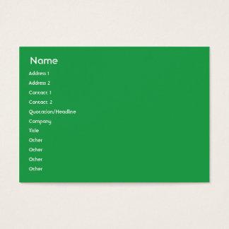Jamaica - Chubby Business Card