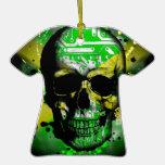 Jamaica circuit Skull Ornament
