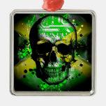 Jamaica circuit Skull Ornaments