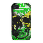 Jamaica circuit Skull Vibe iPhone 4 Cover