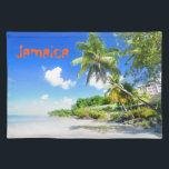 """Jamaica Cloth Placemat<br><div class=""""desc"""">Tropical island in Jamaica</div>"""